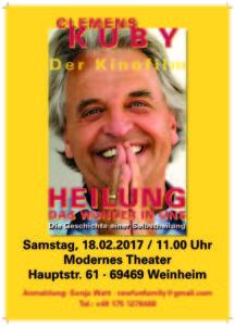 Clemens Kuby, Heilung, Selbstheilung, Querschnittslähmung, mental healing, Kubymethode, Seelenschreiben