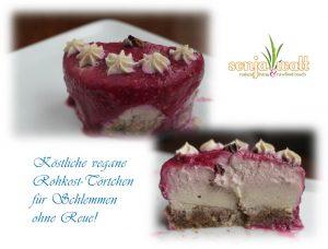 Rohkostkuchen, roher Kuchen, rohe Torte, Rohkostrezept, Sonja Watt